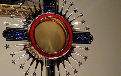 Custodia Peregrina visita el Monasterio